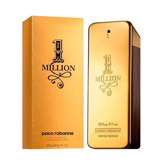 Perfume Paco Rabanne 1 Million 200ML Edt - Masculino