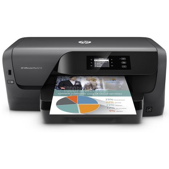 Impressora HP Officejet Pro 8210 Wifi/Bivolt Preto