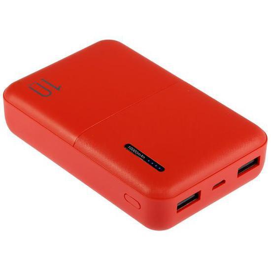 Carregador Portatil Wesdar S69 10.000 Mah 2 Saidas USB - Vermelho