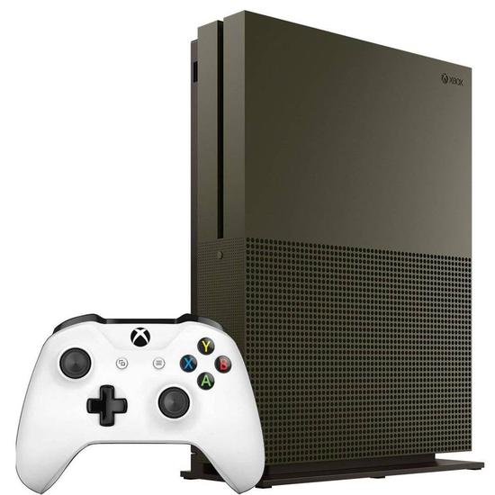 Console Xbox One Slim 1TB + Military Green R*