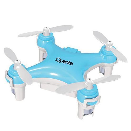 Drone Quanta QTPDR2036 Mini /Giro de 360 Graus - Azul/Branco