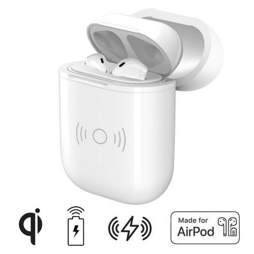 Case Carregador Wireless Qi W9033 para Airpods 5V 1A - Branco