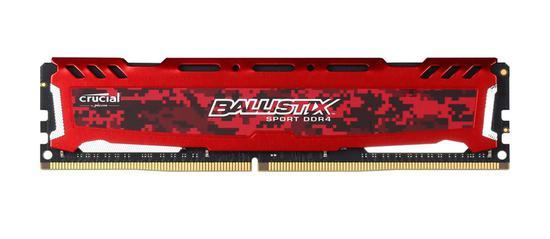Memória Ram DDR4 Crucial Ballistix Sport LT BLS4G4D240FSE 4GB/2400MHZ Vermelho
