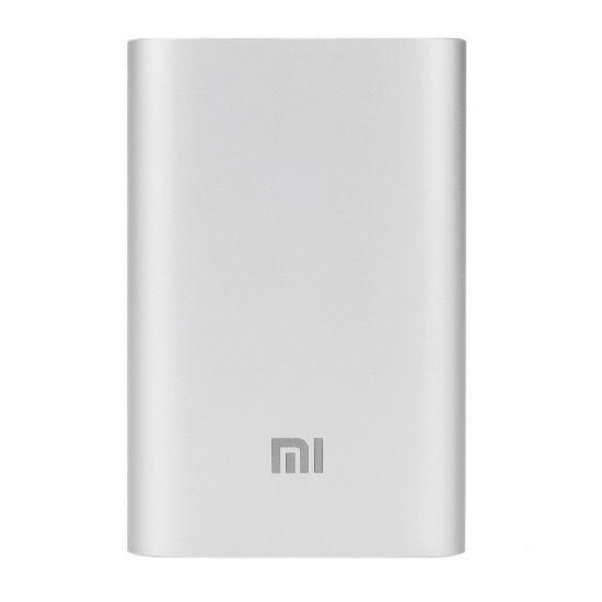Carregador Portatil Xiaomi Mi Power Bank 10000 Mah Silver