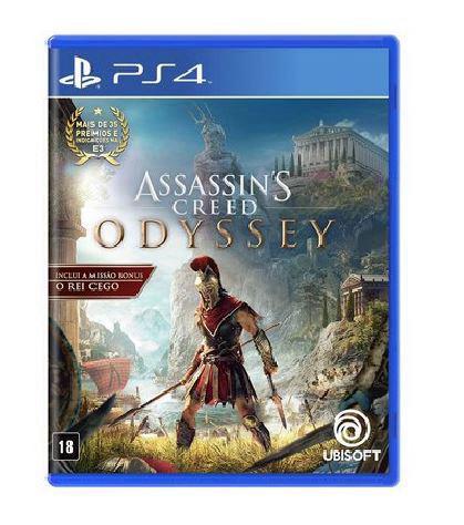Jogo Assassins Creed Odyssey PS4