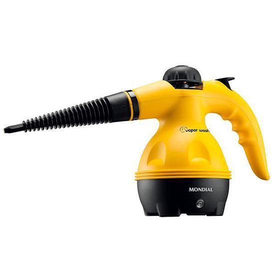 Higienizador Vapor Wash Mondial HG-01 1000 Watts para 350 ML 110-127V/60HZ - Amarelo/Preto