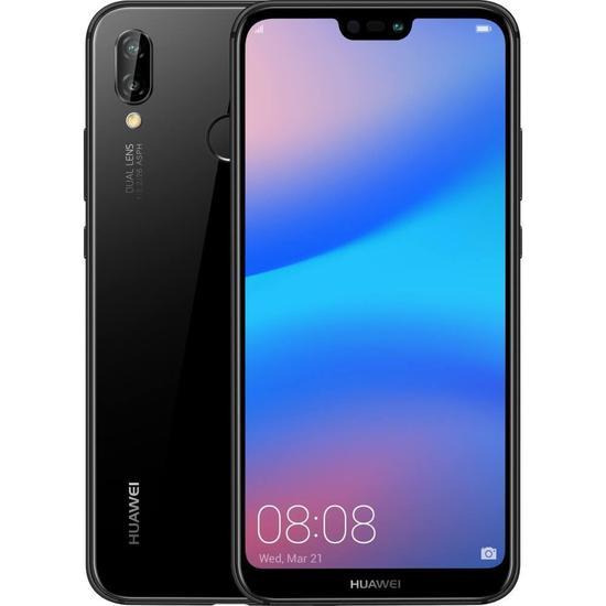 Smartphone Huawei P20 Lite ANE-LX3 SS 32GB Tela 5.8 16+2MP/16MP - Preto