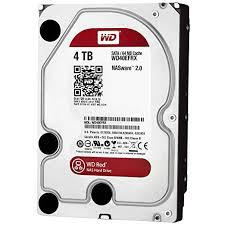 HD SATA3 de 4TB Western Digital WD Nas Red WD40EFRX - 5400RPM 64MB