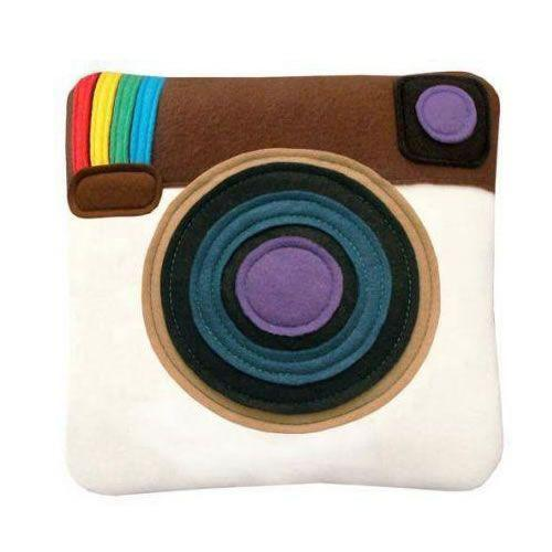 Almofada Instagram Geek Pillow