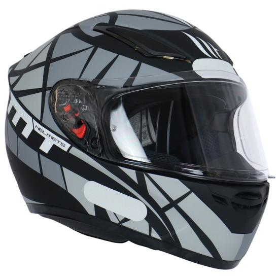 Capacete MT Helmets Revenge Speeding B2 - Cinza Fosco - Tamanho s