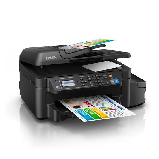 Impressora Multifuncional Epson Ecotank L655 Wifi/ Bivolt Preto