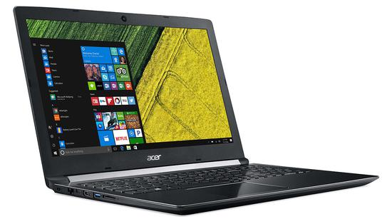 "Notebook Acer A515-51-563W i5-2.5GHZ-7200U/ 8GB/ 1TB/ 15.6""/ W10/ Ingles Preto"