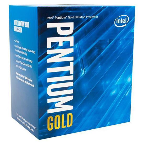 Processador Intel Pentium Gold G5400 Dual Core de 3.7GHZ com Cache 4MB