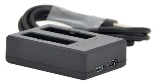 Carregador Dual para Cameras Sjcam SJ6 Legend
