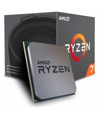 Processador AMD AM4 Ryzen R7-1700 37GHZ/20MB