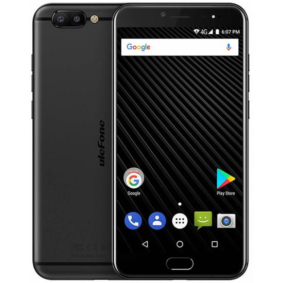Smartphone Ulefone T1 DS 6/128GB 5.5 16+5MP/8MP A7.0 - Preto