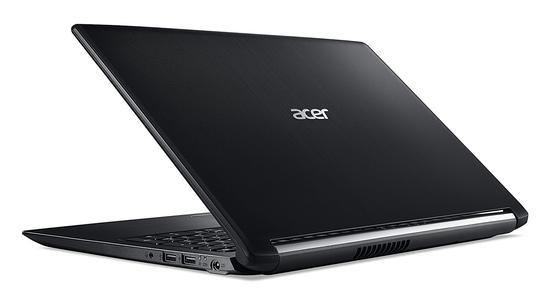 """Notebook Acer A515-51-563W i5-2.5GHZ-7200U/ 8GB/ 1TB/ 15.6""""/ W10/ Ingles Preto"""
