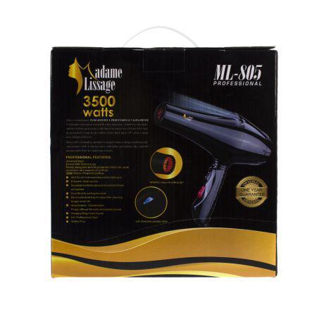 Madame Lissage ML-805 Secador Infravermelho (3500W/110V)