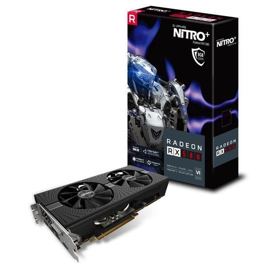 VGA Sapphire 8GB RX580 Radeon Nitro+ 11265-21-20G