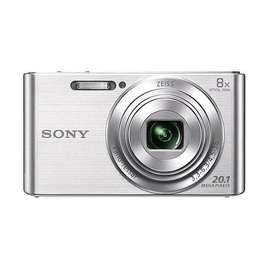 "Camera Fotografica Sony DSC-W830 Tela 2.7"" de 20.1MP HD X8 Zoom Optico - Prata"
