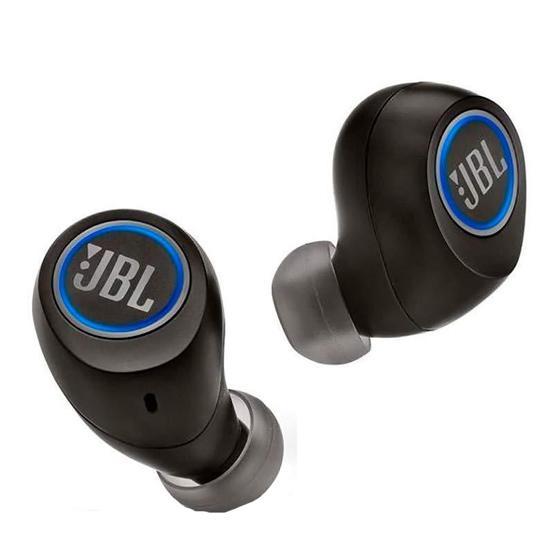 Fone de Ouvido Sem Fio JBL Free X com Bluetooth/Microfone - Preto