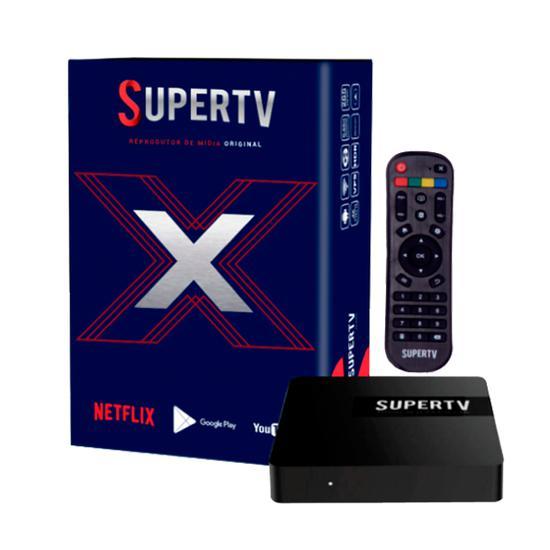 Receptor Supertv X Blue Edition na loja HB Games no Paraguai ...