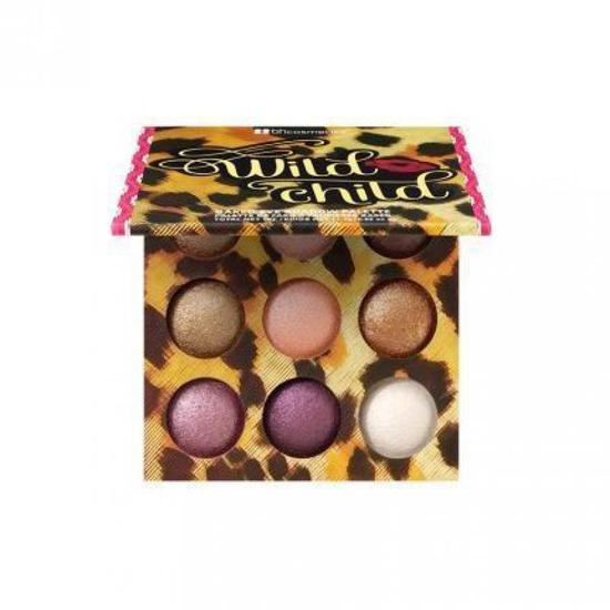 BH Cosmetics Wild Child Baked Eyeshadow Palette (9 Cores)