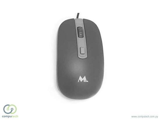 Mouse Mtek PMF 850UK Optico Black com Fio