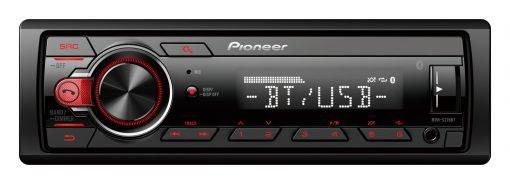CD Player Automotivo Pioneer MVH-S215BT com USB - Preto