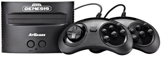 Console Retro Sega Genesis Classic Game com 81 Jogos