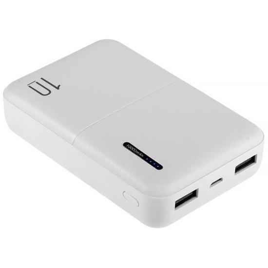 Carregador Portatil Wesdar S69 10.000 Mah 2 Saidas USB - Branco