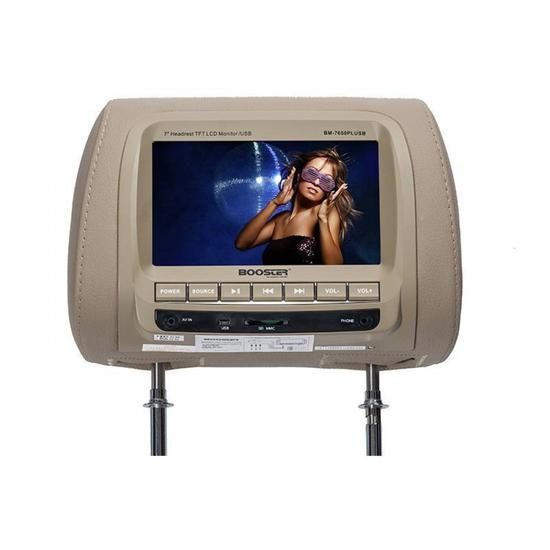 "Tela Booster Encosto BM-7650PLUSB 7.0"" USB Bege"