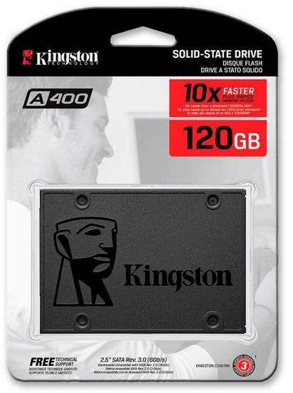 HD SSD 120GB Kingston SA400S37 (*)