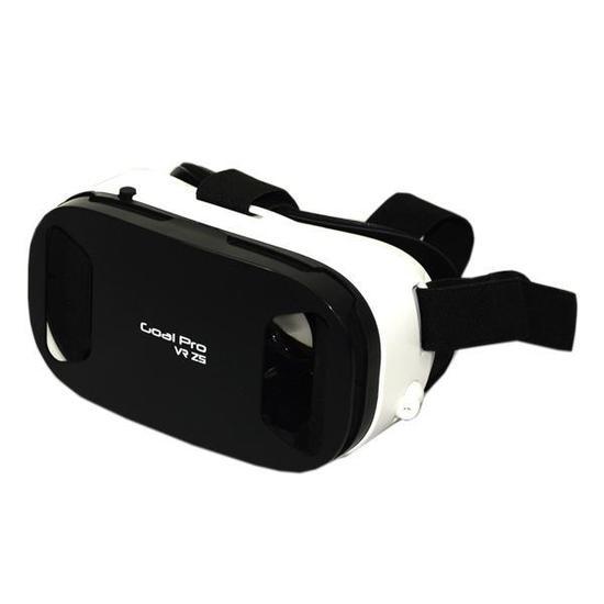 887fa4a6e31fa Oculos de Realidade Virtual 3D Goal Pro VR Z5 com Fone de Ouvido - Preto