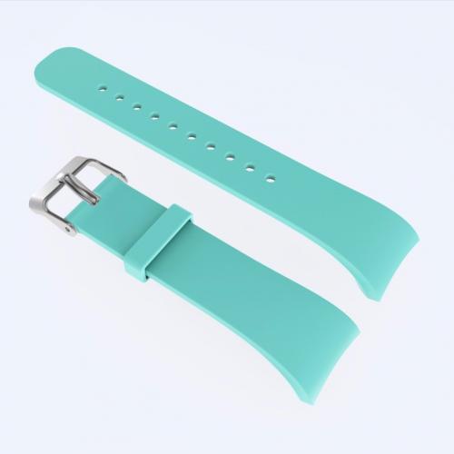 Pulseira 4LIFE de Silicone para Samsung Galaxy Gear Fit 2 - Large - Verde Paris