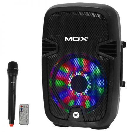 Caixa Amplificada Mox MO-K417B - 8 Polegadas