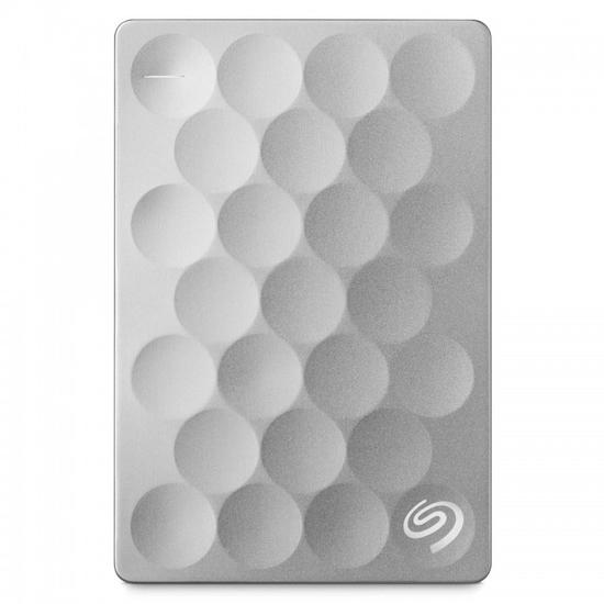 HD Externo Seagate Backup Plus Ultra Slim STEH2000100 - 2TB - Prata