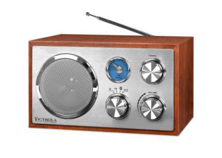Mini Speaker Victrola VRS-2400 Retro Wooden Mah