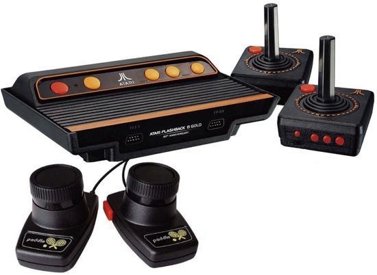 Console Retro Atari Flashback 8 Gold Deluxe Game Com 120