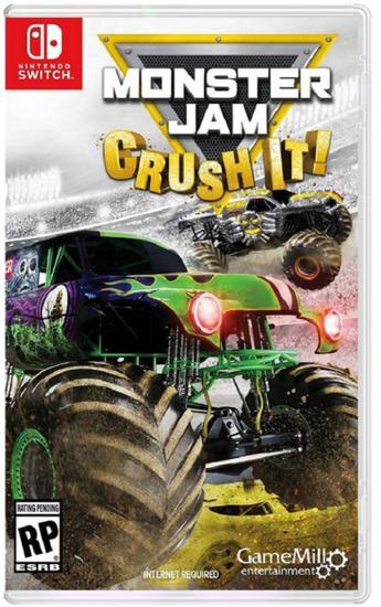 Jogo Monster Jam Crush It - Nintendo Switch
