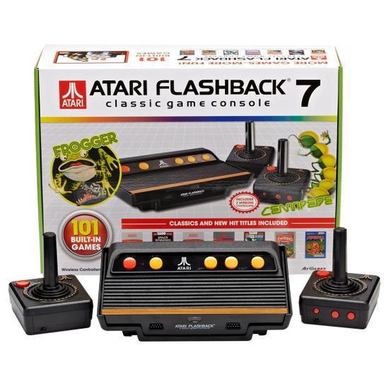 Console Atari Flashback 7 Classic System c/101 Jogos Atgames
