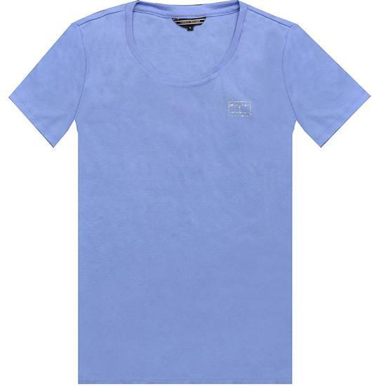 Camiseta Tommy Hilfiger Cody Round-NK WW0WW19948 371 - Feminina