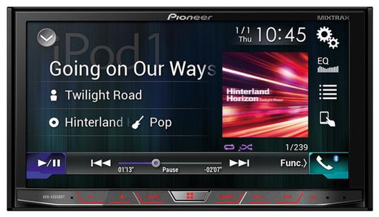 Toca DVD Pioneer AVH-X8850BT Bluetooth