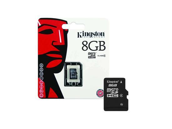 Cartão de Memória Kingston Micro SD 8GB Clase 4