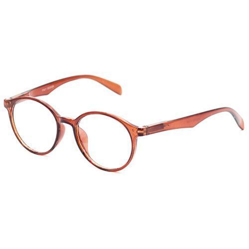 6056ae132 Oculos de Grau Italy Design SP54076 Feminino, Acetato, +1.5 - Marrom ...