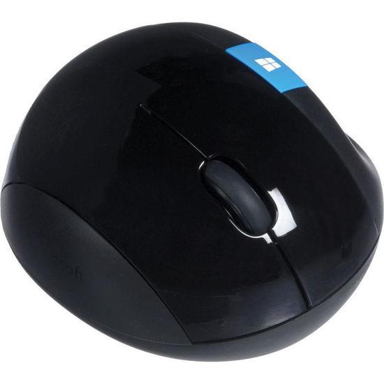 Mouse Microsoft L6V-00001 Sculpt Ergonomic Wireless Preto