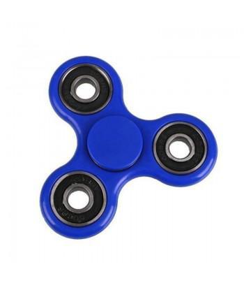 Fidget Spinner Anti Stress Preto/Azul @...................