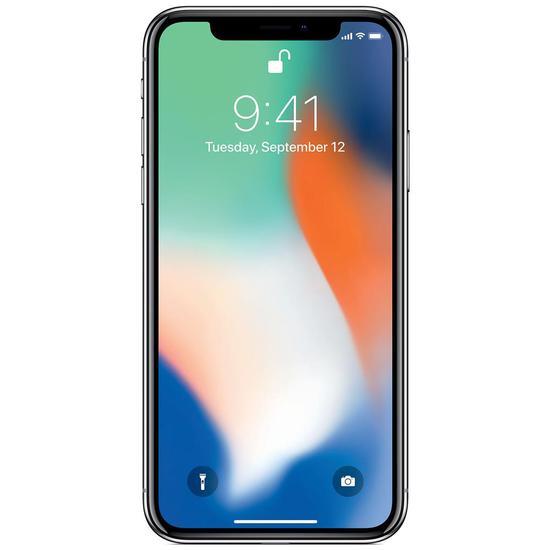 Celular Apple iPhone X A1901 - 64 GB MQAD2BZ/A Prata