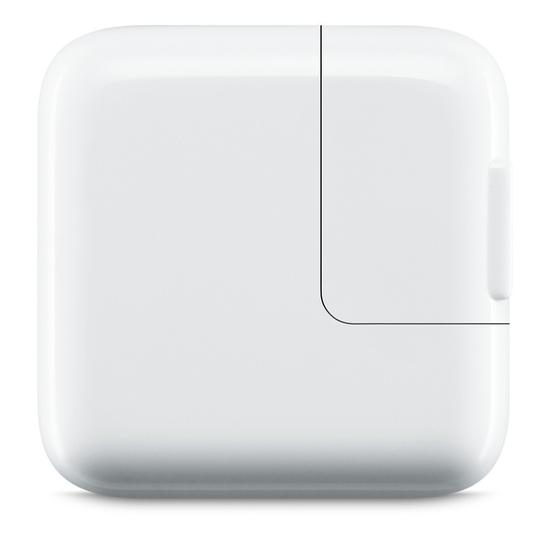 Adaptador Apple Carregador 12W USB MD836E/A para iPad/iPhone/iPod