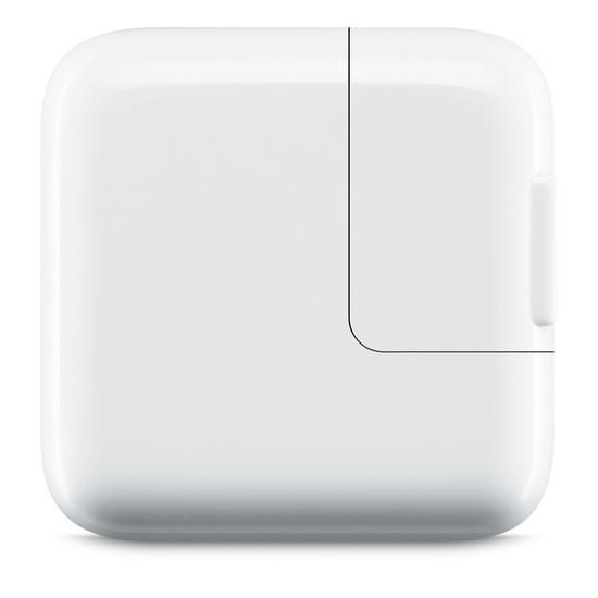 Adaptador Apple Carregador 12W USB MD836E/A para iPad/iPhone/iPod
